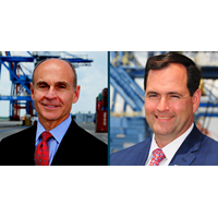 Paul Cozza and Brian Clark (Photos: NC Ports)