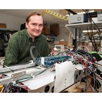 James Bellingham will begin work as the Director of the WHOI Center for Marine Robotics in early fall 2014. Bellingham comes to WHOI from the Monterey Bay Aquarium Research Institute (MBARI), where he was director of engineering and most recently chief technologist. (Photo courtesy of MBARI)