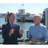 Sen. Richard Blumenthal (left) and Rep. Joe Courtney (Photo: American Maritime Partnership)