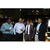 Capt Vijayachelvan, Pacific International Lines; Alok Nautiyal, Liberty Navigation; Ryan Kumar, Direct Search Asia; and Sugato Roy, BW LPG
