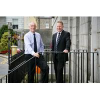 L-R Mark Clarke, chairman and Paul Radcliffe, managing director, Frontier International