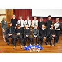 Turriff Academy pupils (Photo: ACE Winches)