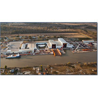 North American Shipbuilding shipyard in Larose, La. (Photo: Edison Chouest)