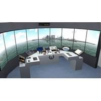 Mock up of the simulator complex. (Photo: Foss Maritime)
