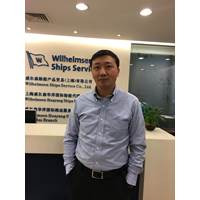 Michael Chen (Photo: Wilhelmsen Ships Service)