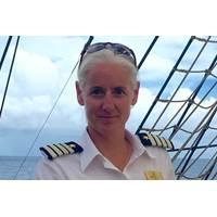 Kathryn Whittaker is the new captain of Sea Cloud II (Photo: Sea Cloud Cruises)