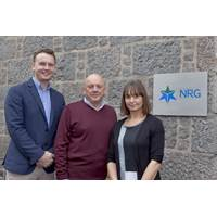 Daniel Mackay, Andrew Mackay and Erica McPherson (Photo: NRG Group)