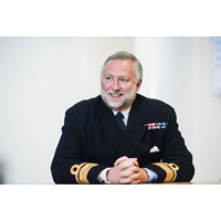 Rear Admiral Tim Lowe CBE (Photo: UK Hydrographic Office)