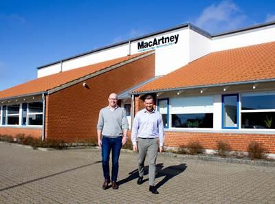 Bjørn Joensen and Erik J. Aalbæk   (Photo: MacArtney)