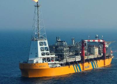 Bleo Holm FPSO used for production from Repsol Sinopec's Blake and Ross fields - Image Credit: Repsol Sinopec