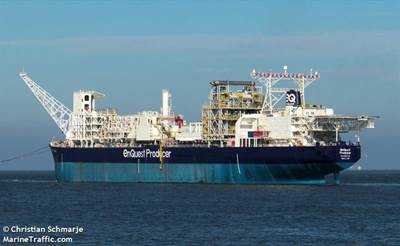 For Illustration; EnQuest Producer FPSO - Image by Christian Schmarje/MarineTraffic