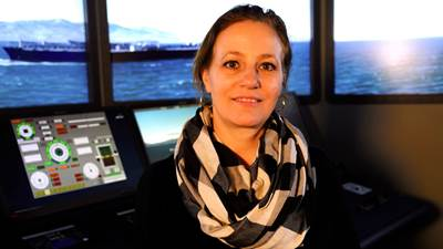 Jennifer Norwood, Assistant Professor of Marine Transportation (Photo: Maine Maritime Academy)