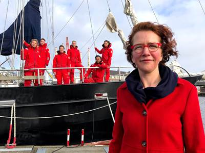 Christel Pullens (Photo: Sea Ranger Service)