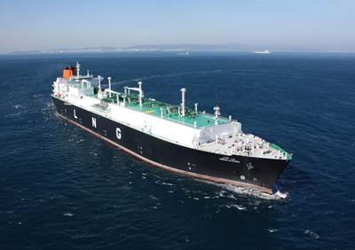 A HHI-built LNG Carrier. (Source: HHI)
