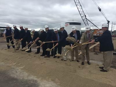 EDP groundbreaking (Photo courtesy of Mercury Marine)