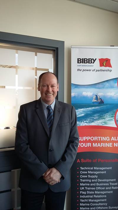 Donald Macfarlane (Photo: Bibby Ship Management)