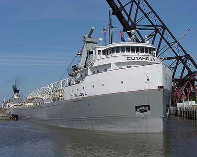 Bulk vessel Cuyahoga (Photo: Rand Logistics)