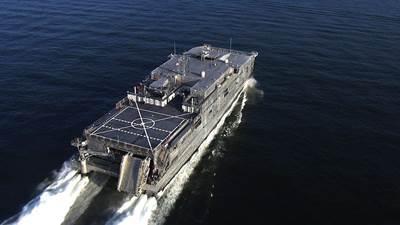 USNS Fall River (JHSV 4)  (Photo credit: U.S. Navy)