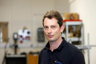 Kineteco senior technical manager Max Sheppard. (Photo: Kineteco)