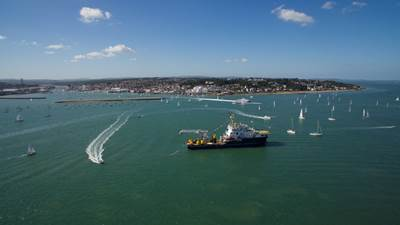 View of Cowes Harbour (Photo:  Cowes Harbour Commissioners)