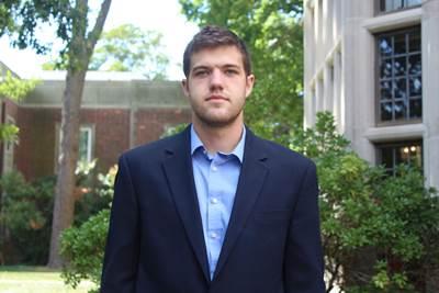 Tyler Gray-Hoehn (Photo by Taylor Adamczyk, Webb Institute)