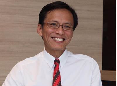 Russell Tham as President, New Enterprises and Ventures Photo courtesy Singapore Technologies Engineering Ltd