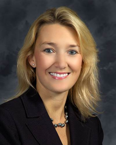 Christie Thomas,  vice president of contracts and pricing at its Newport News Shipbuilding division. (Photo: HII)