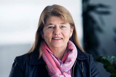 Margareth Øvrum (Photo: Ole Jørgen Bratland / Statoil)
