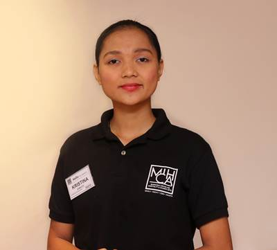 Kristina Kamatoy, MICHA Scholarship Beneficiary 2018 (Photo: Sailors' Society)