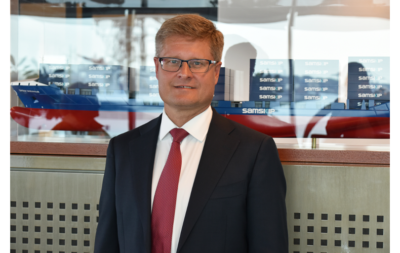Kari-Pekka Laaksonen, Group CEO Samskip (Photo: Samskip)