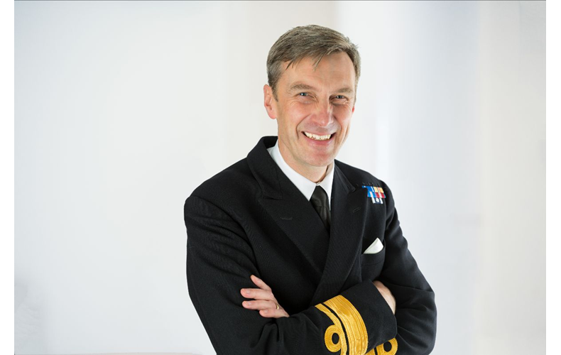 Rear Admiral Peter Sparkes (Photo: UKHO)