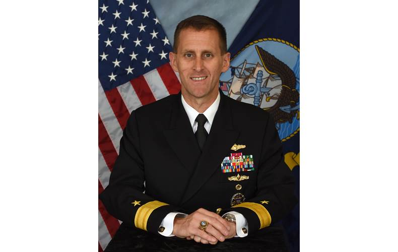 Rear Admiral John Okon, Commander, Naval Meteorology and Oceanography Command