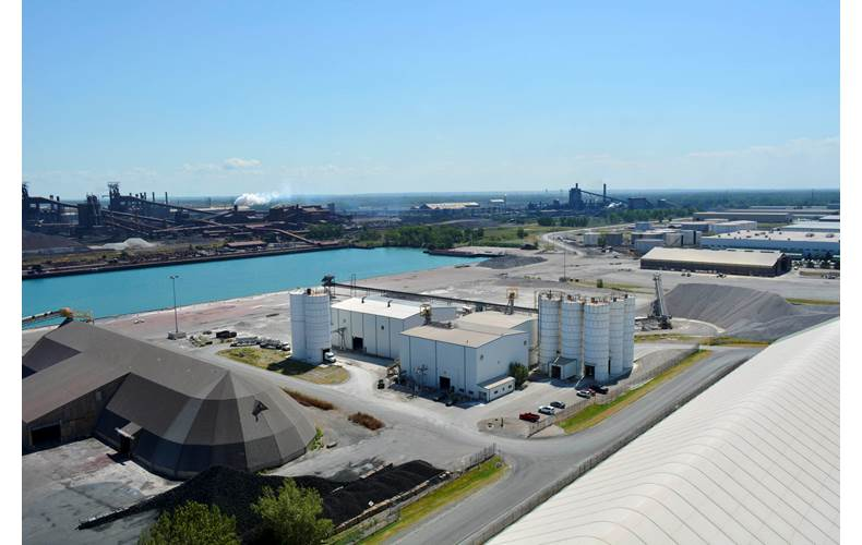 Photo Courtesy Ports of Indiana-Burns Harbo