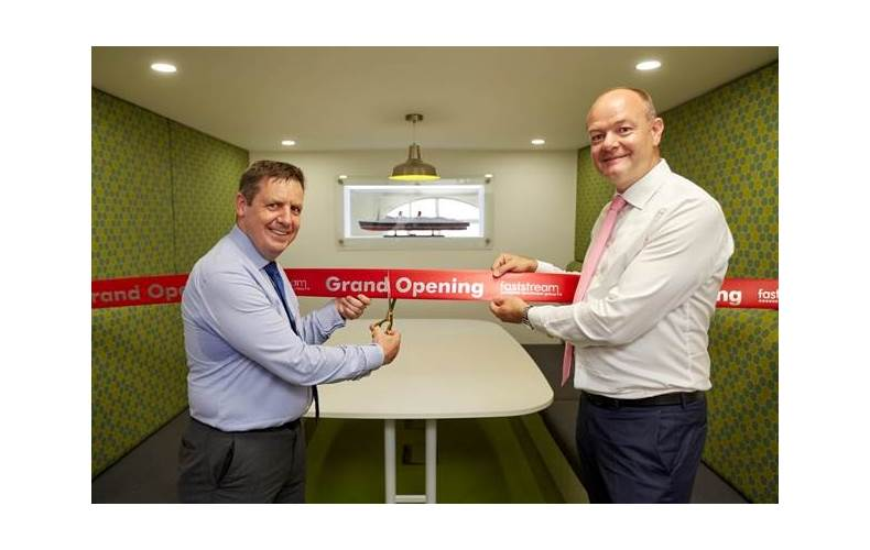 Guy Platten, CEO UK Chamber of Shipping (left), and Mark Charman, CEO Faststream Recruitment Group (right) (Photo: Faststream)