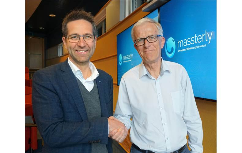 Autonomous shipping company Massterly has appointed Tom Eystø (left) as managing director and Per Brinchmann as chair of the company's board (Photo: Massterly)
