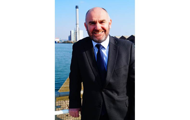 Stuart Nicholls (Photo: Shoreham Port)