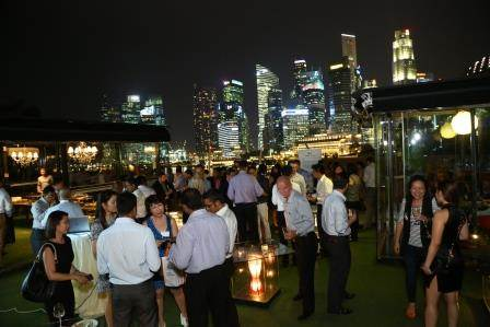 Crowd at Direct Search Asia launch event
