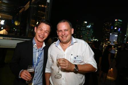 Jason Tay, Direct Search Asia; with Peter Schellenberger, Sinwa Singapore