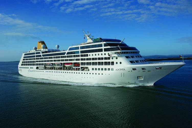 MV Adonia (Photo: Carnival Corporation)