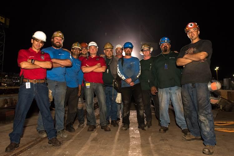 Shipbuilders at General Dynamics NASSCO (Photo: General Dynamics NASSCO)