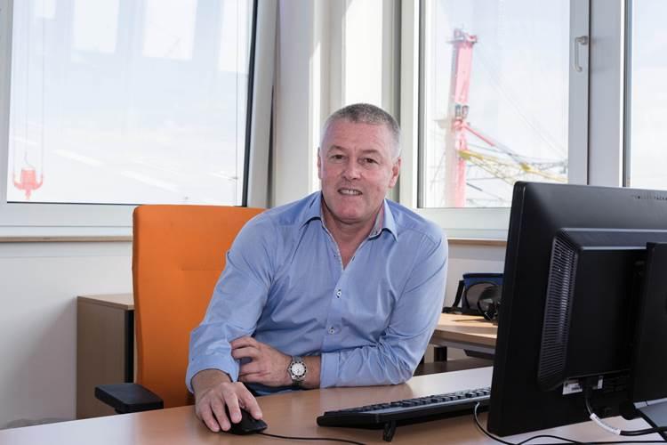 Gordon Clark will develop a maritime sales division out of Sydney/Australia (Photo: Liebherr)