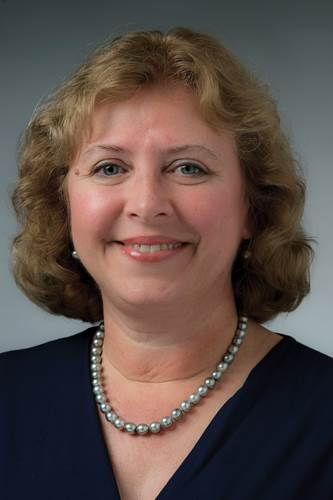 Suzanne Beckstoffer, an accomplished engineering leader and business woman, the first woman president in SNAME's 125 year history. Photo: HII/NNS