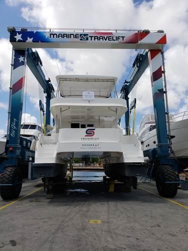 100T Marine Travel Lift by RMKMS